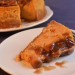 Praline Pumpkin Cheesecake Slice Photo