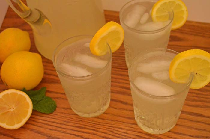 It's the real thing, lemonade photo