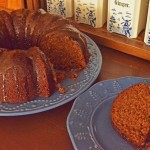 Applesauce Gingerbread Cake Photo