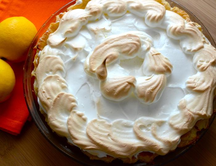 Lemon Merinque Pie