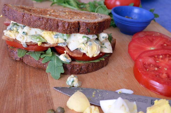 Egg Salad Sandwich Photo