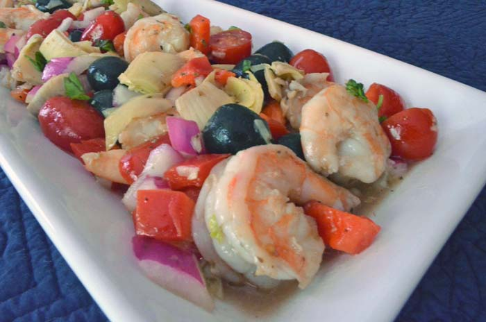 Shrimp Antipasto Salad Photo