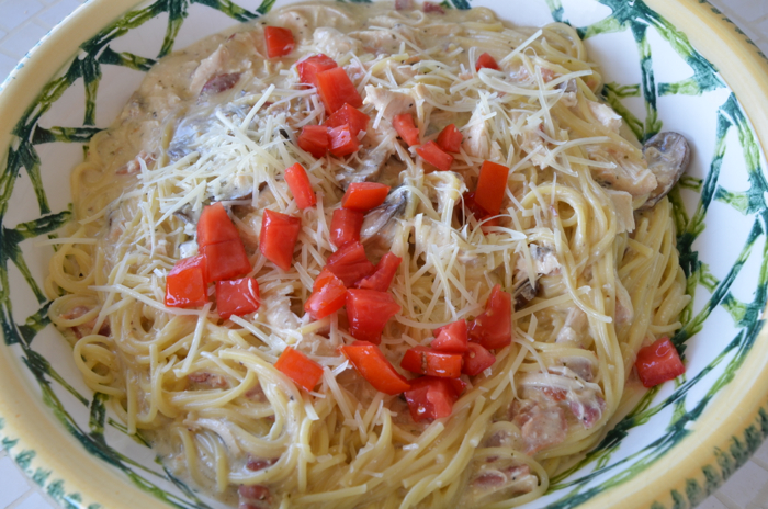 Slow Cooker Chicken and Pasta