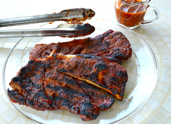 BBQ Pork Steak