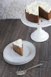 Carrot Cake witih Slice