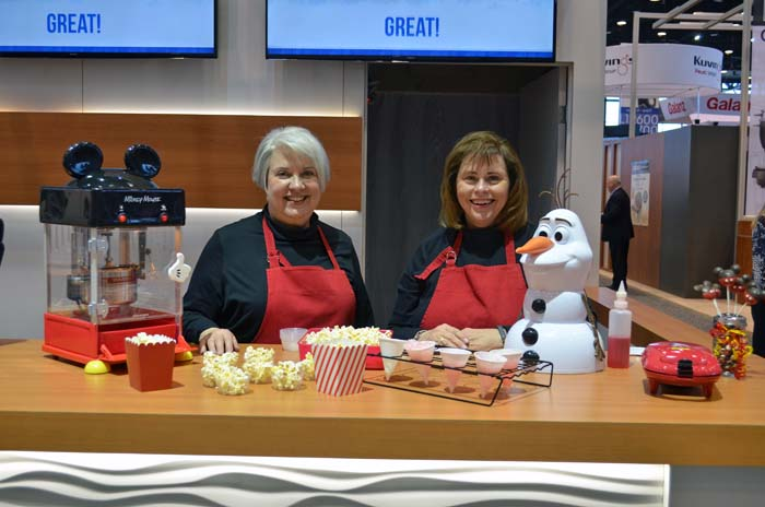 Electrified Cooks at Housewares Show