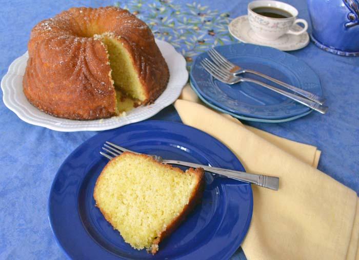Glazed Orange Pound Cake Photo