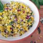 Corn salad photo