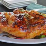 Roasted Terriyaki chicken