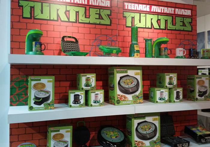 Teen Mutant Ninja Turtle wall