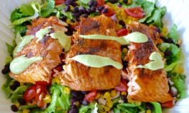 Grilled Southwest Salmon Salad