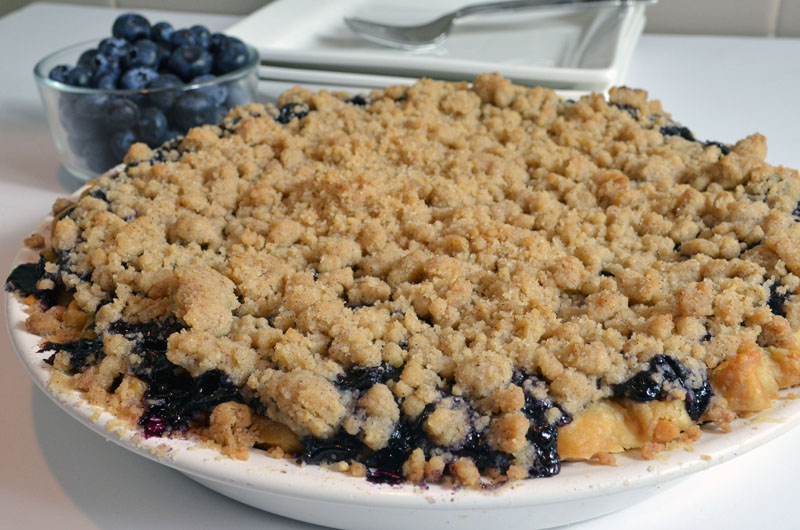 Lemon Blueberry Pie Recipe