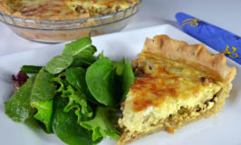 Mushroom-Bacon Quiche Recipe